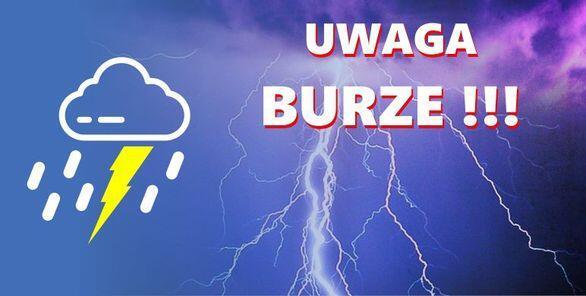 UWAGA BURZE!!!