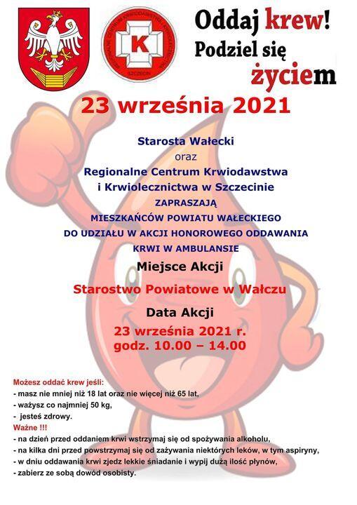 Akcja mobilnego oddawania krwi w Ambulansie