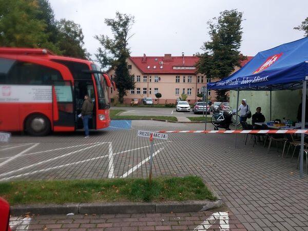 Mobilna Akcja Poboru Krwi w Ambulansie