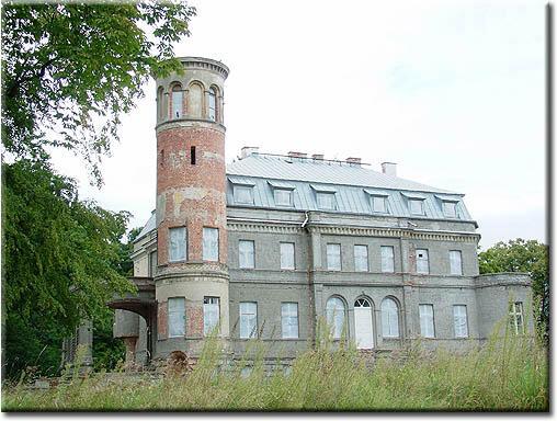 Dłusko - pałac i park dworski