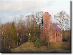 Kościół w Głowaczewie z 1669 r.