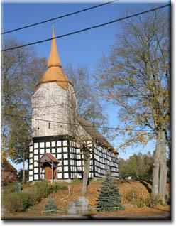 Kościół w Golcach z 1669 r.