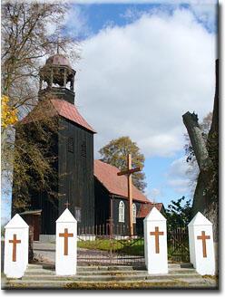 Kościół w Jeziorkach Wałeckich