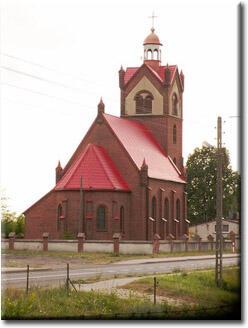 Kościół w Witankowie (fot. Violetta Malinowska)