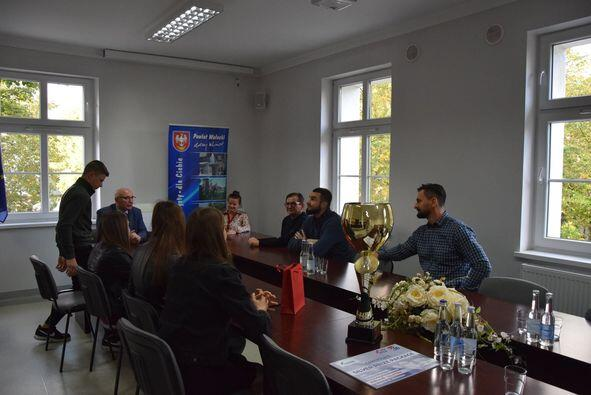 Starostwo Powiatowe w Wałczu wita Mistrzów Polski w boksie