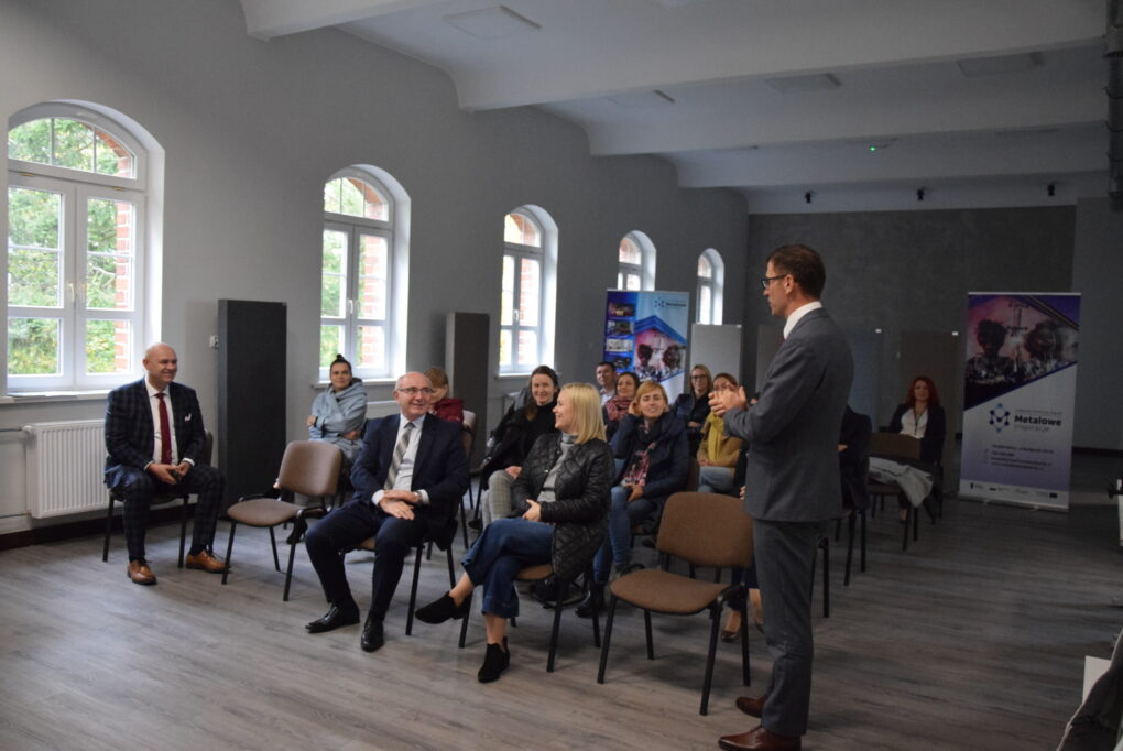 Wizyta dyrektora Wydziału Wdrażania Regionalnego Programu Operacyjnego Wojciecha Łebińskiego